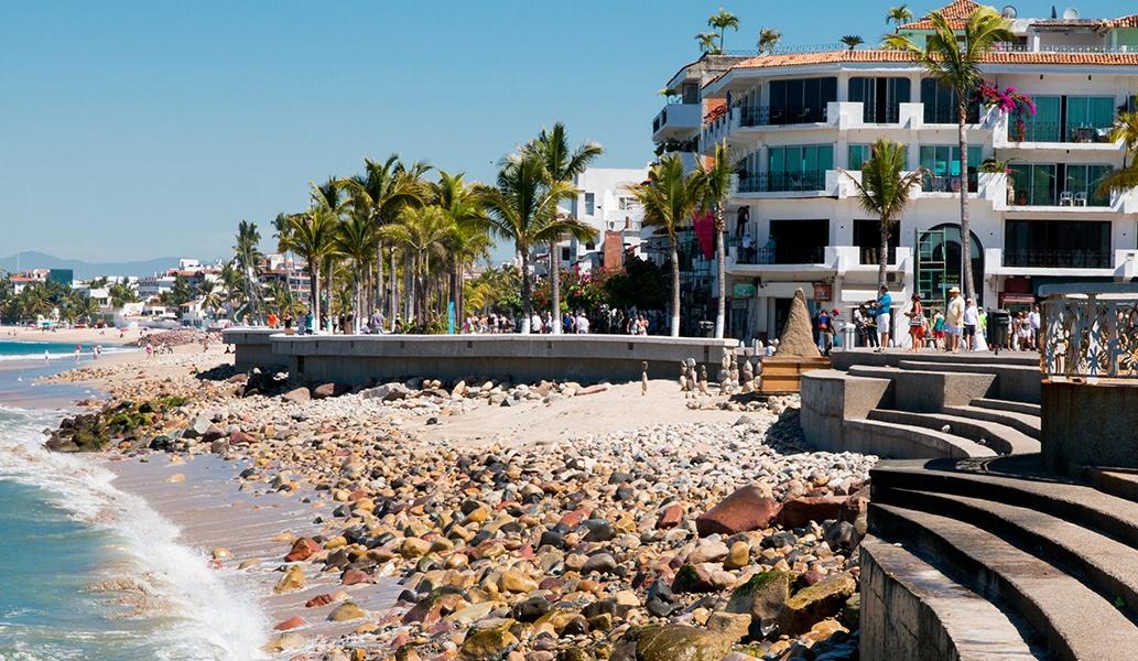 El Malecon Boardwalk of Puerto Vallarta