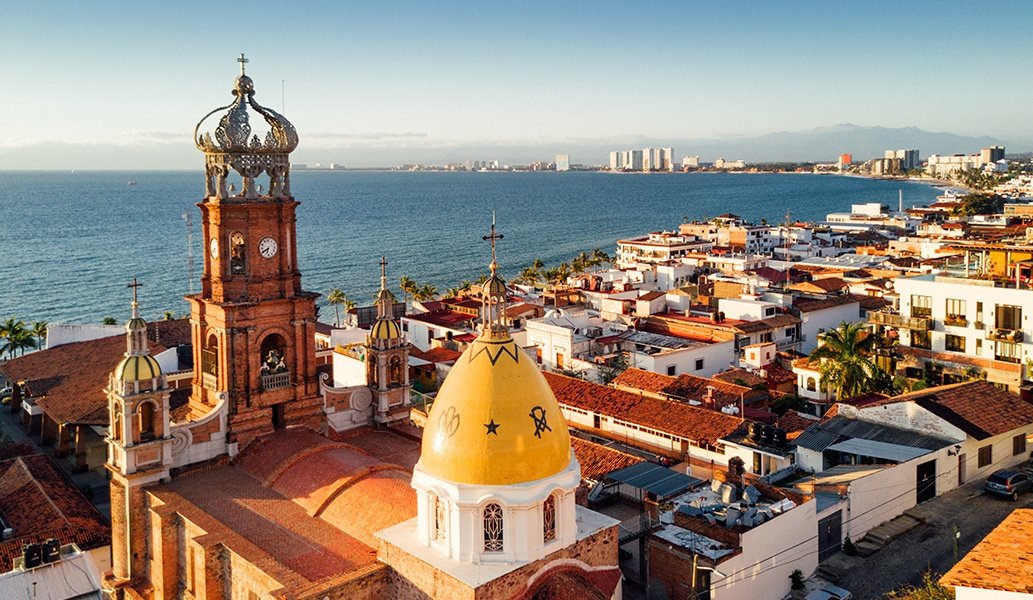 Old Vallarta of Mexico