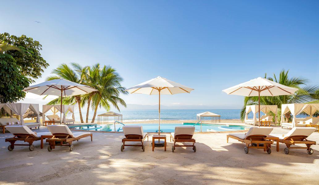 Private Beach Club Bar of Casa Velas Hotel, Puerto Vallarta
