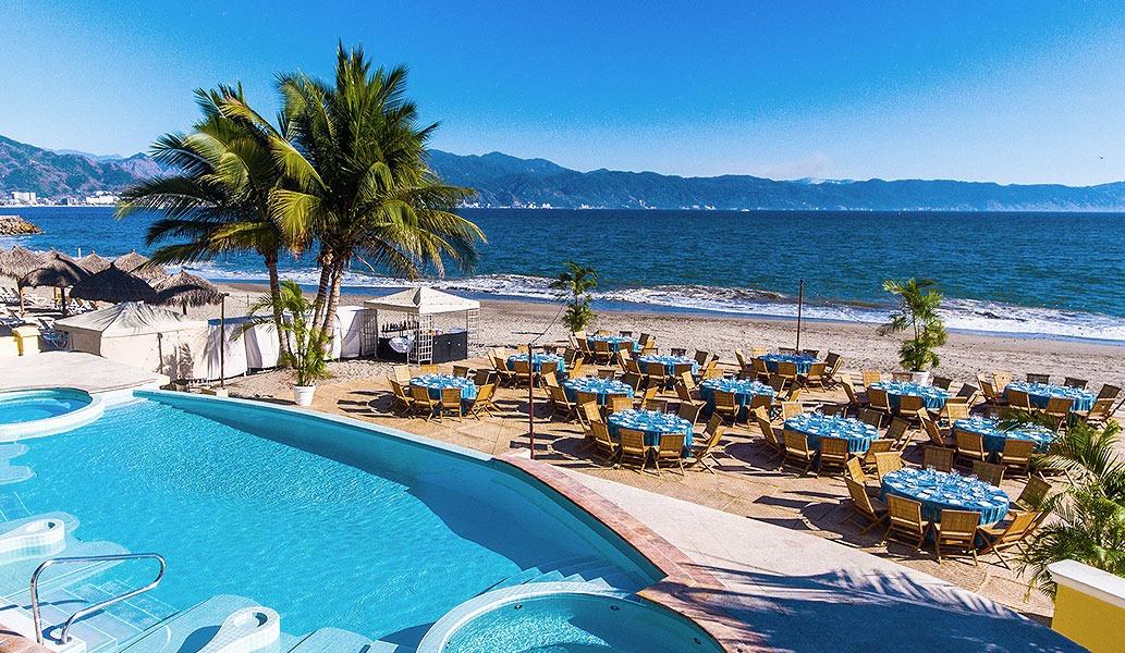 Location of Casa Velas Hotel, Puerto Vallarta