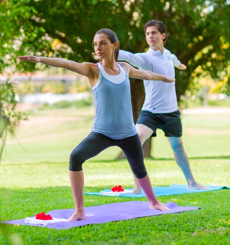 Yoga Classes at Casa Velas Hotel, Puerto Vallarta