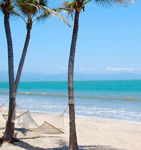 Bucerias Beach in Mexico