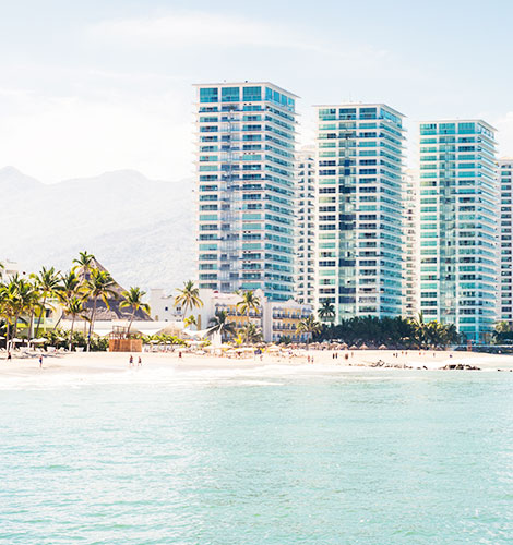 Puerto Vallarta Hotel Zone Beach
