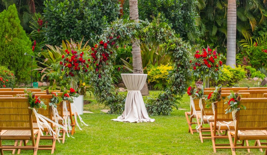Botanical Garden in Casa Velas Hotel, Puerto Vallarta