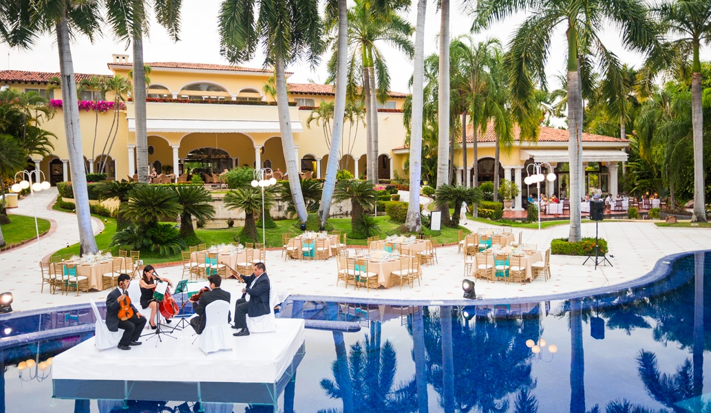 Casa Velas Hotel, Puerto Vallarta Pool Terrace